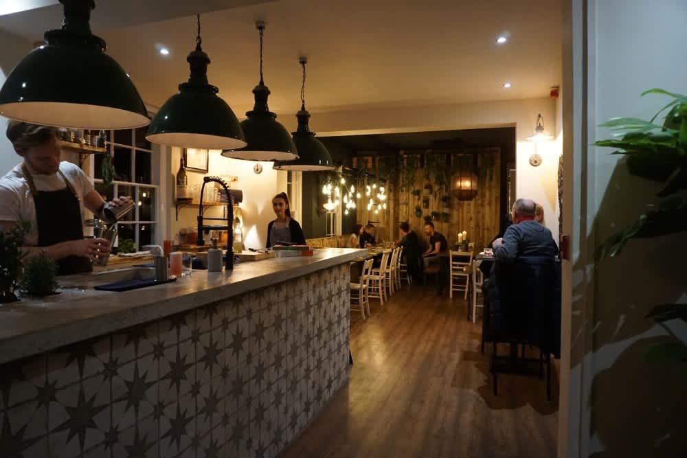 Hypha bar and restaurant in Chester