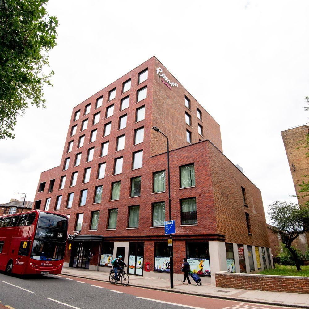IconInc @ Roomzzz London Stratford External. Student Accommodation in London