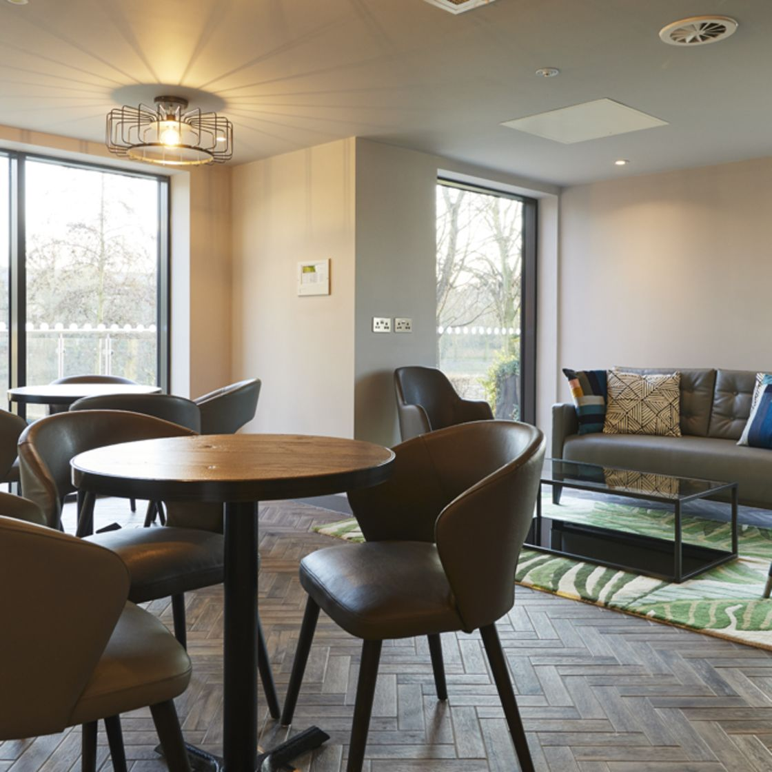 IconInc @ Roomzzz Pantry Coffee Shop and Lounge. Student Accommodation in York