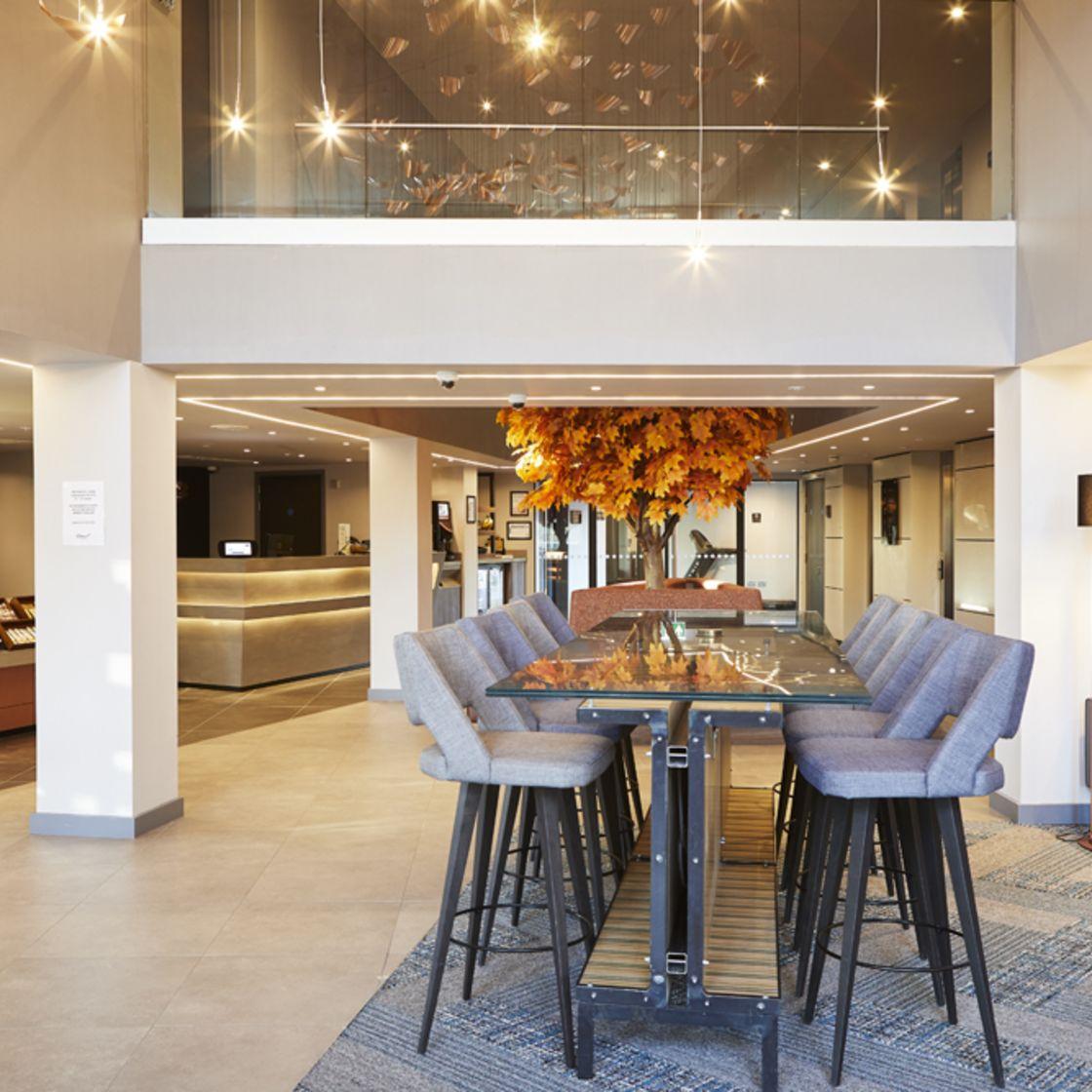 IconInc @ Roomzzz York City Reception Lounge. Student Accommodation in York