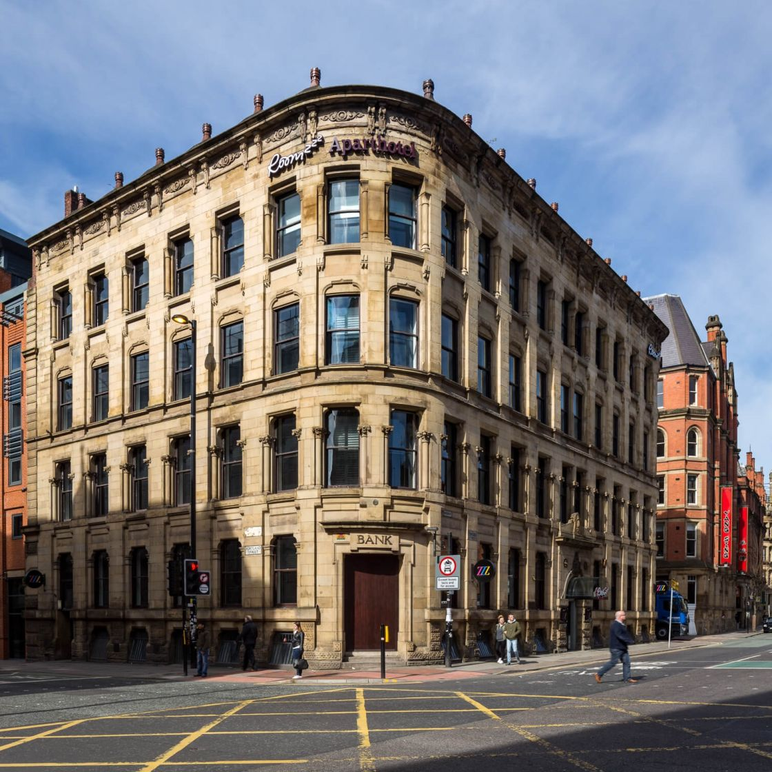 IconInc @ Roomzzz Manchester City External. Student Accommodation in Manchester