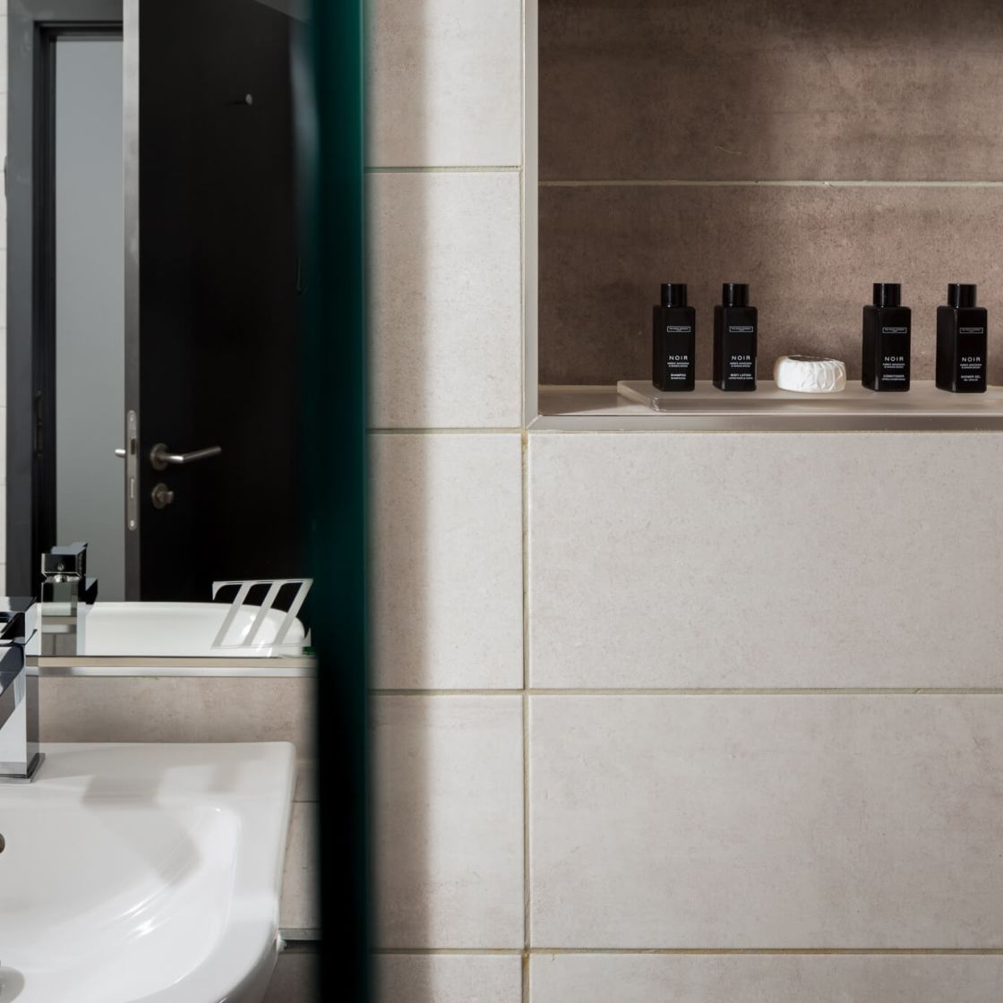 En-Suite Bathroom with White Company Toiletries. Student Accommodation in Nottingham