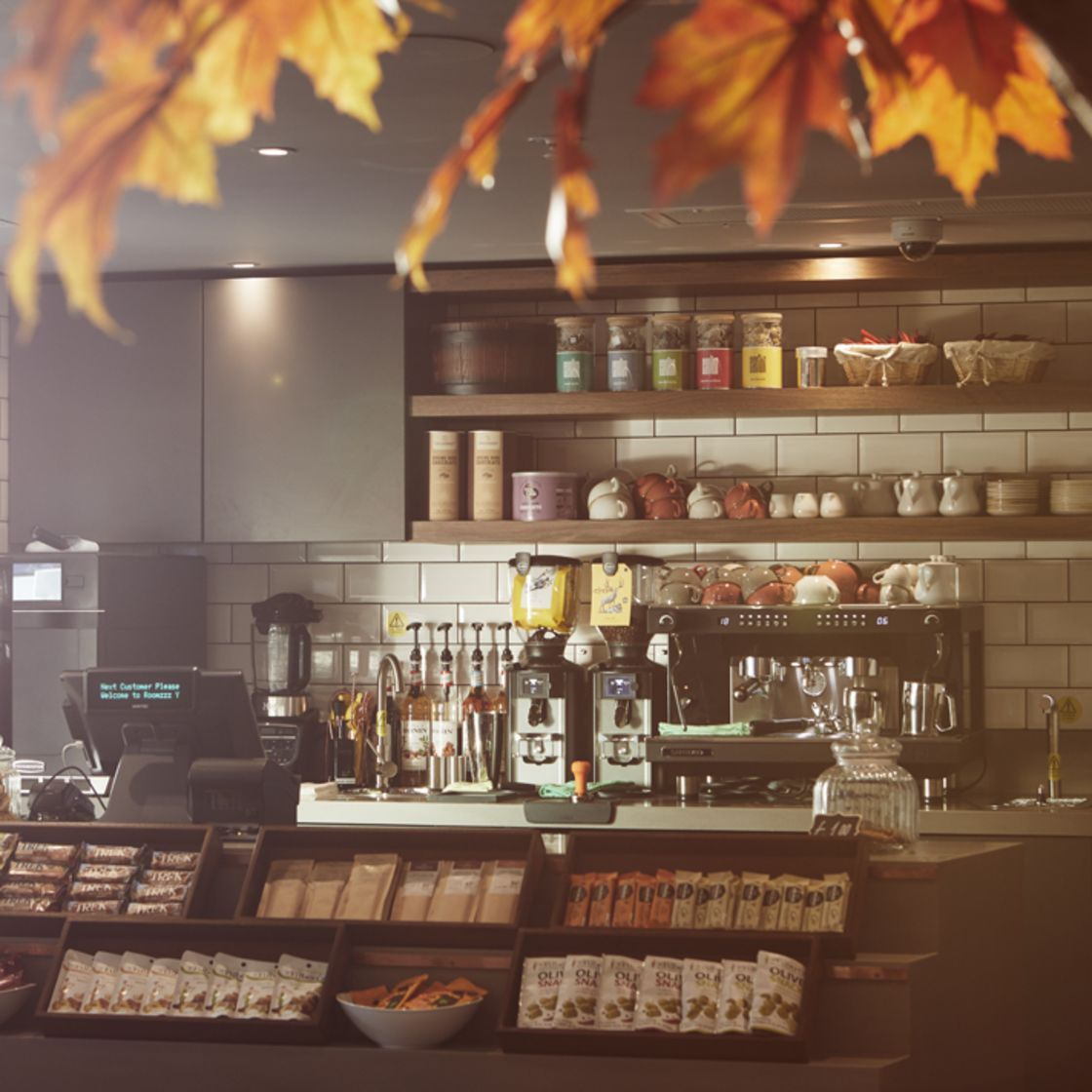 Pantry coffee shop with fresh coffee and food. IconInc @ Roomzzz. Student Accommodation in York