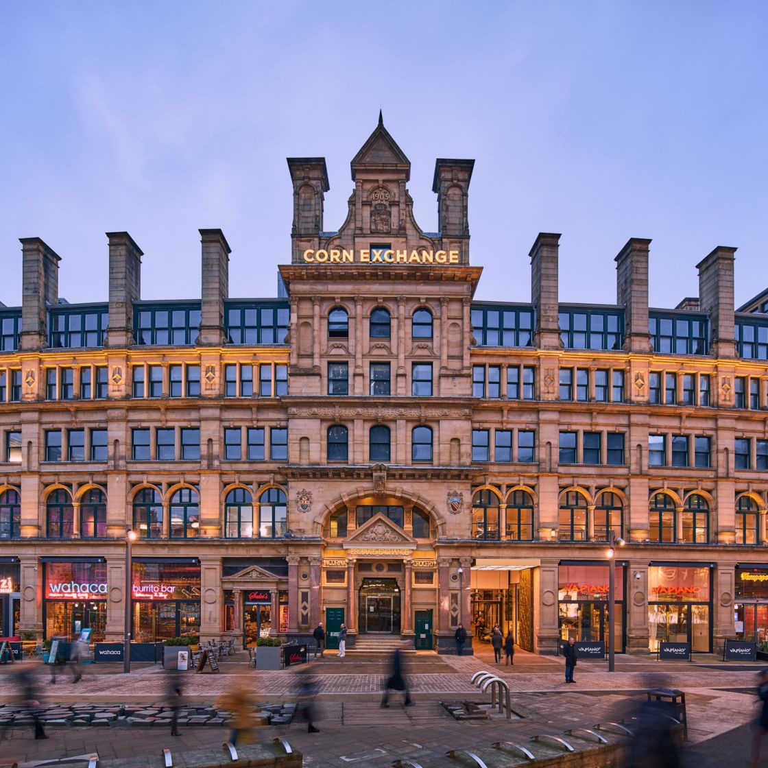 IconInc @ Roomzzz Manchester Corn Exchange External. Student Accommodation in Manchester