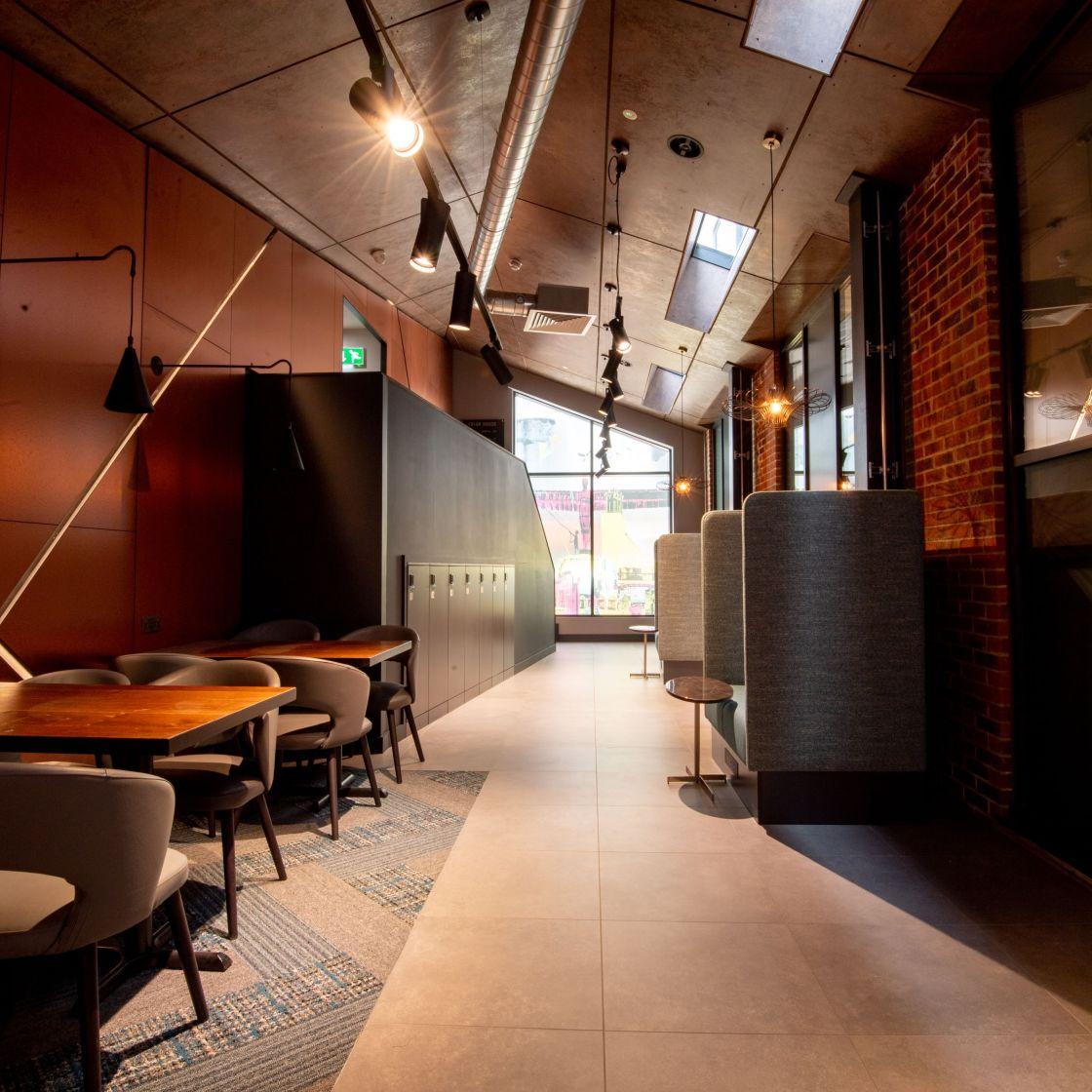 IconInc @ Roomzzz Newcastle Reception Lounge. Student Accommodation in Newcastle