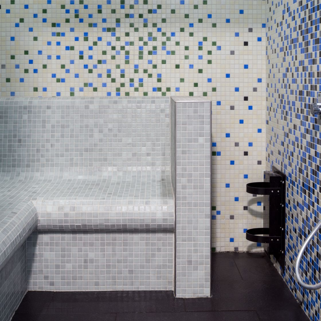 Steam Room at IconInc, The Glassworks. Student Accommodation in Leeds