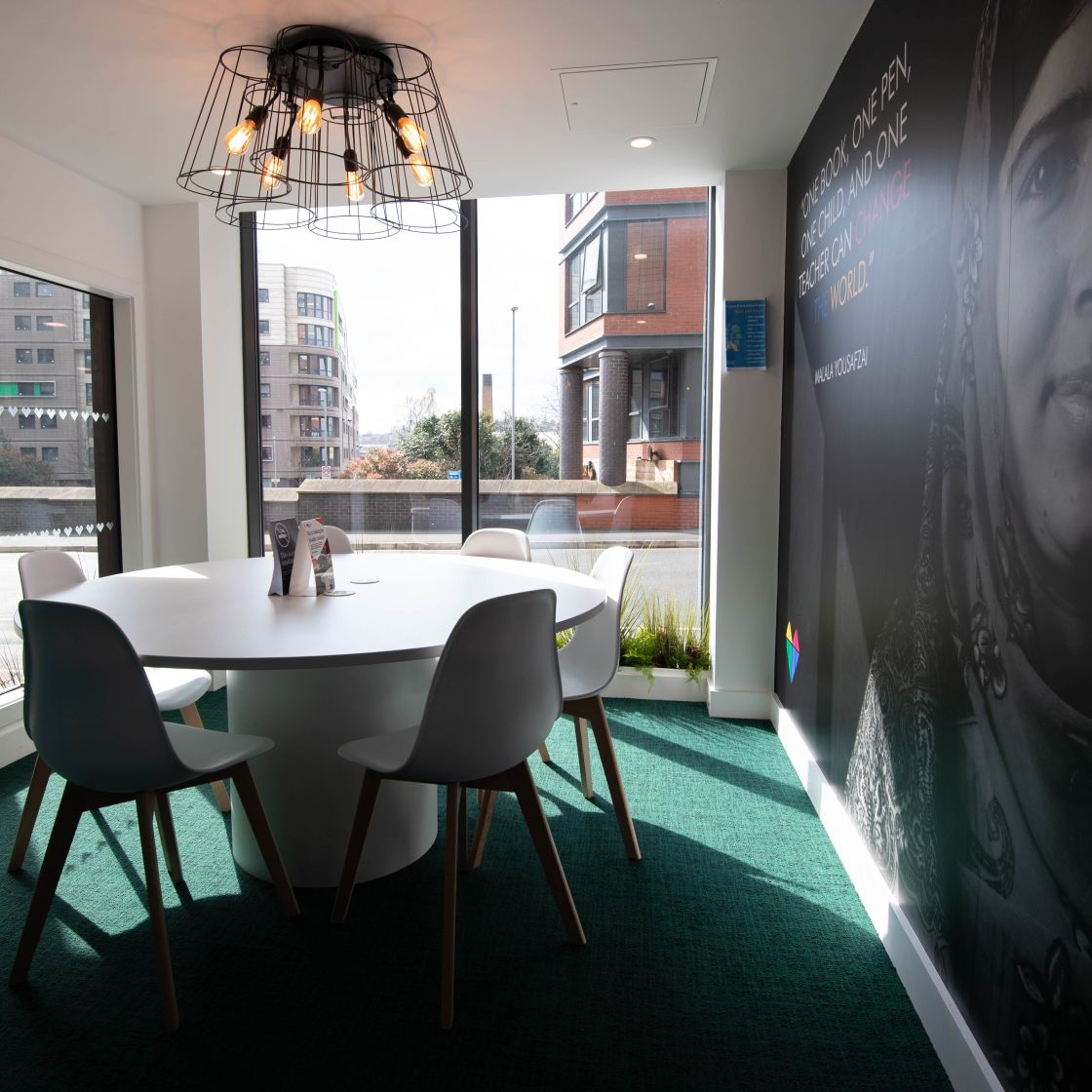 Private Study Room and Desk at IconInc, The Edge. Student Accommodation in Leeds
