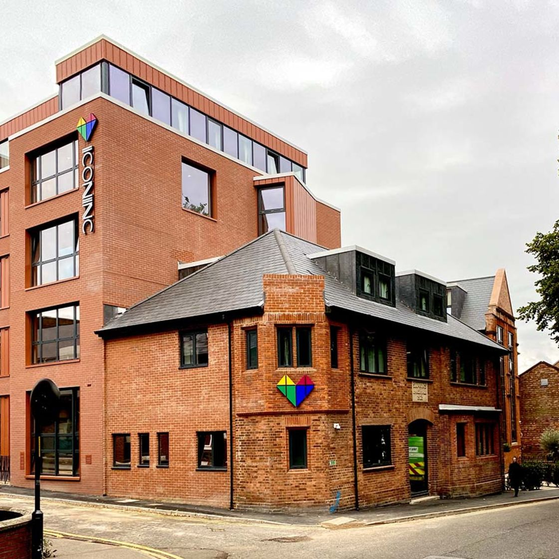 IconInc Gravity External, student accommodation in Lincoln