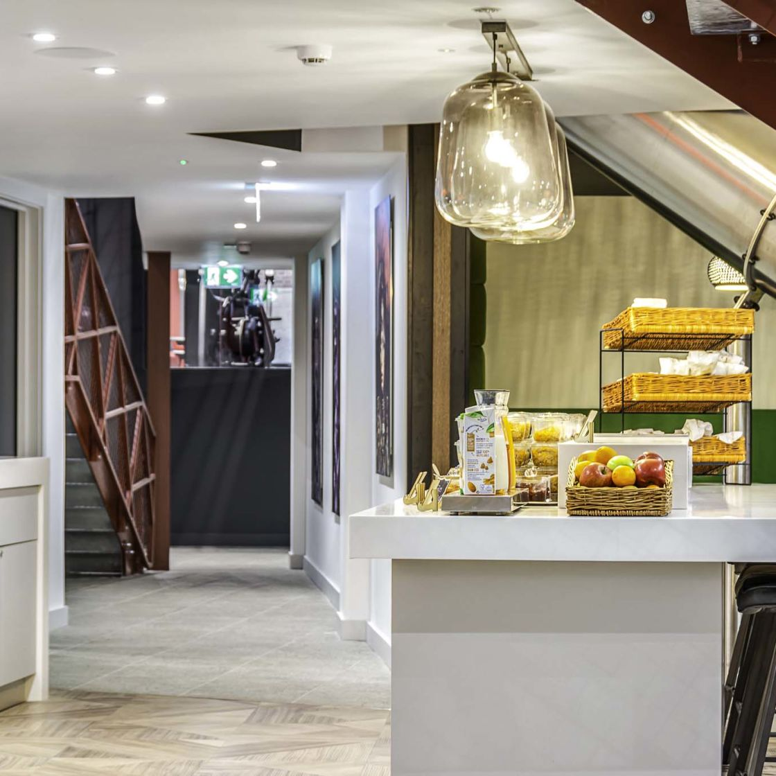 Complimentary breakfast at IconInc Gravity, student accommodation in Lincoln