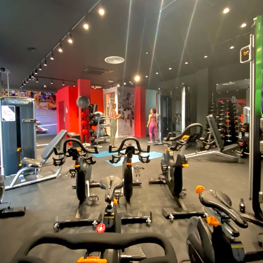 Gym at IconInc Gravity, student accommodation in Lincoln