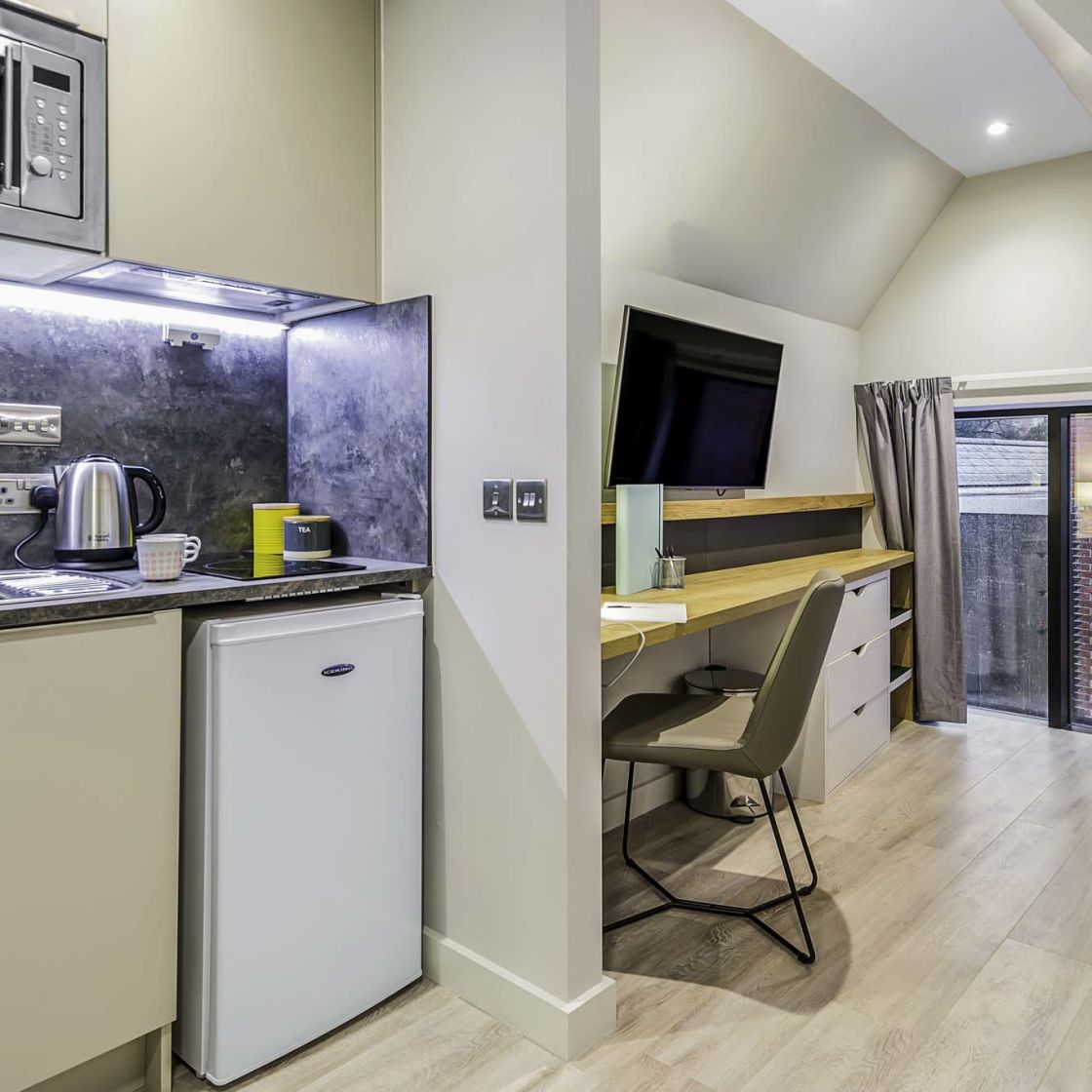 Neo student apartments in Lincoln at IconInc Gravity