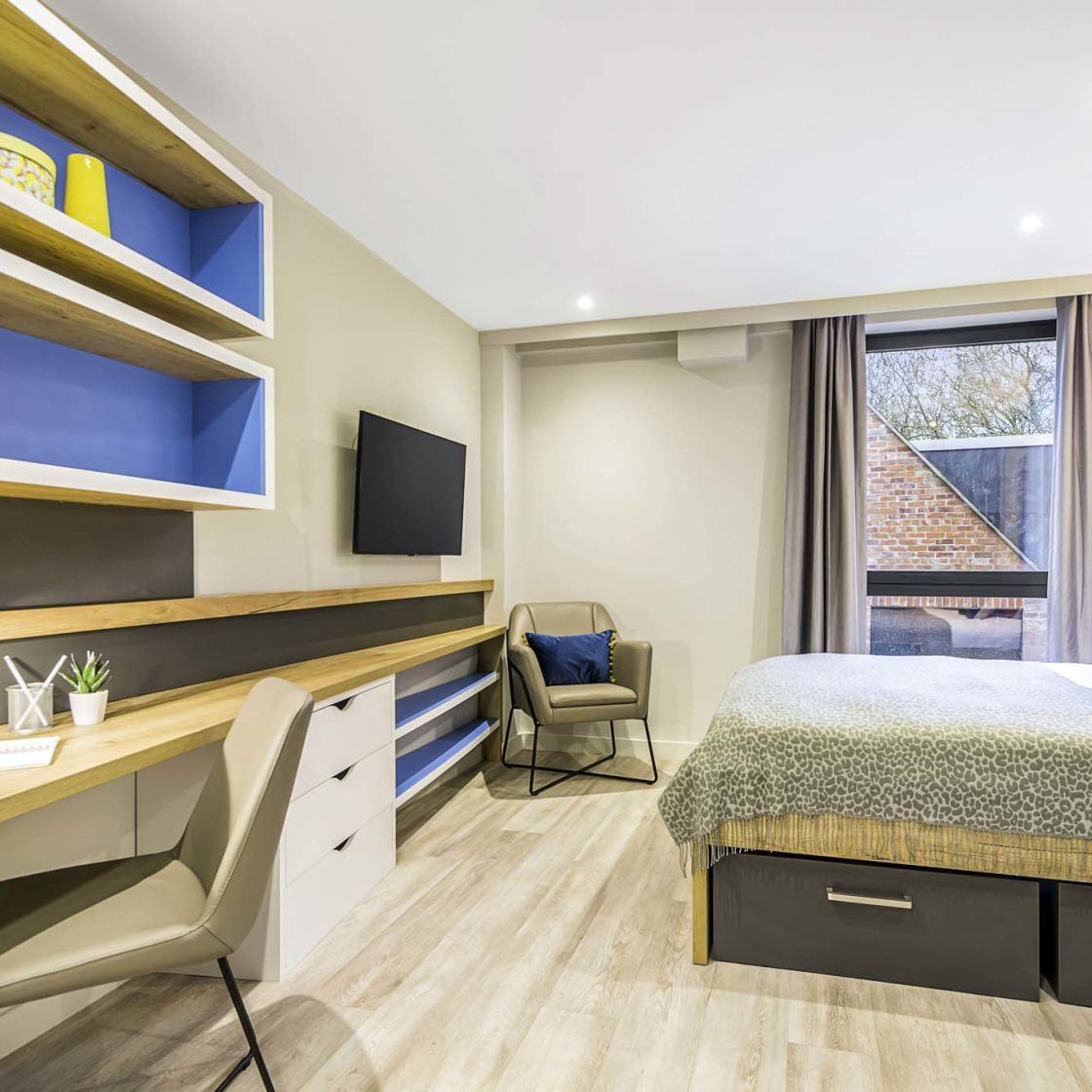 Smart student apartments in Lincoln at IconInc Gravity