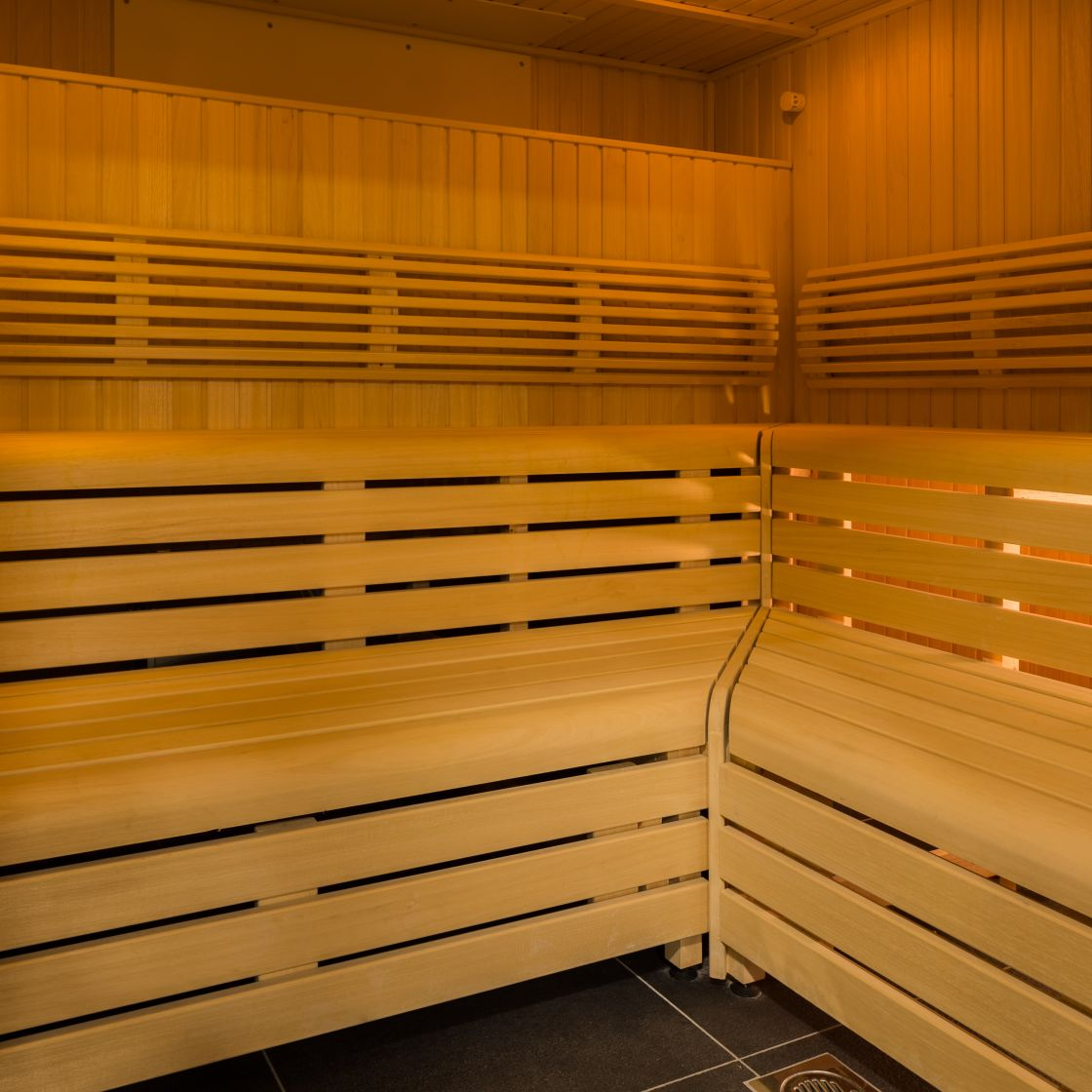 Sauna at IconInc, The Ascent. Student Accommodation in Liverpool