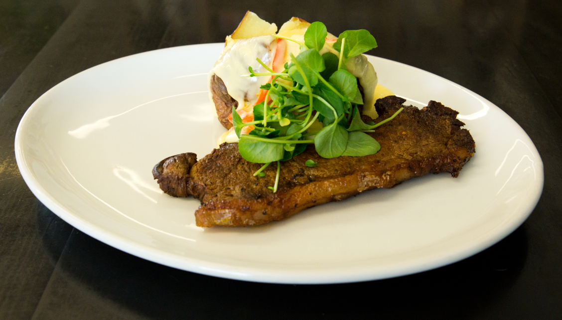 Tex-Mex steak with jacket potato recipe by Chris Hale