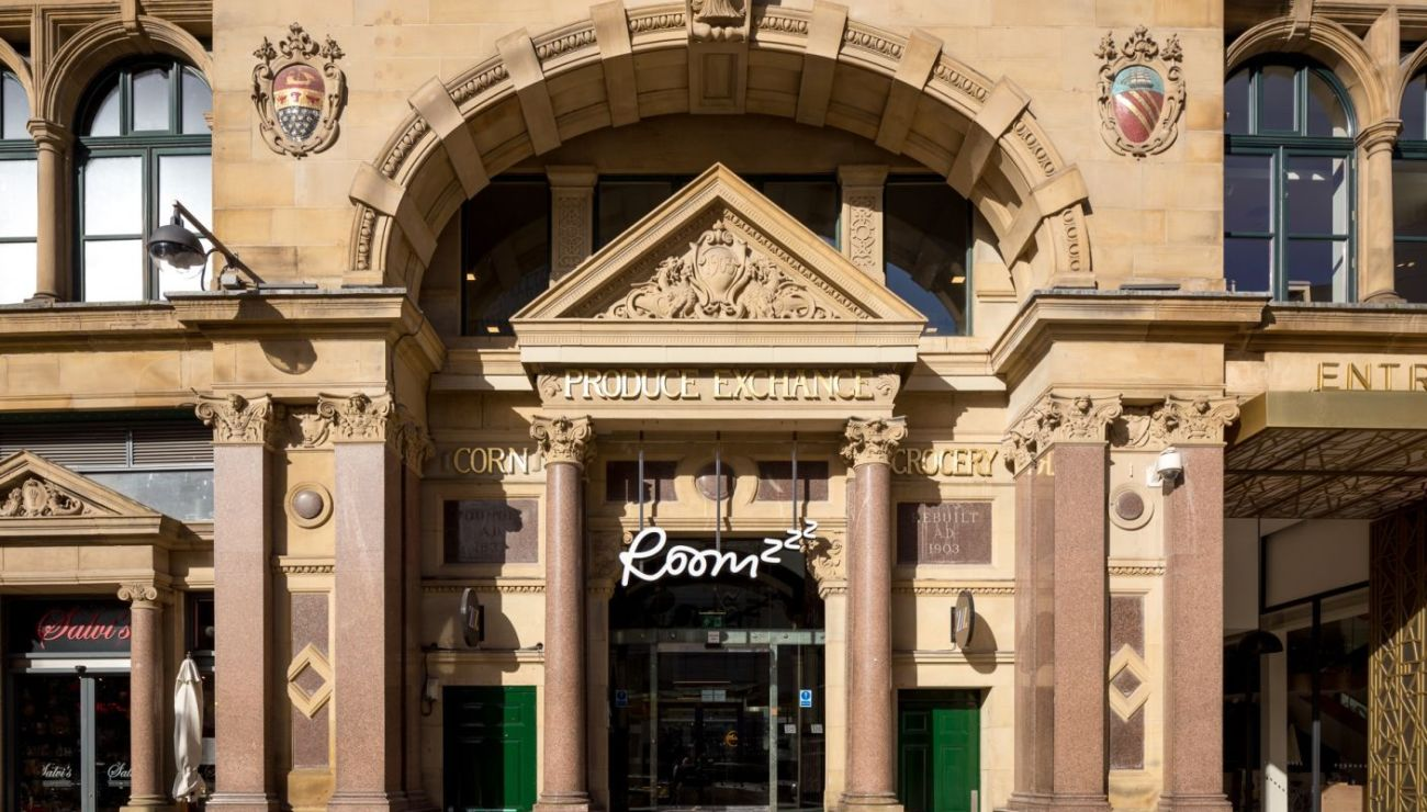 Manchester Corn Exchange External. IconInc @ Roomzzz. Student Accommodation in Manchester