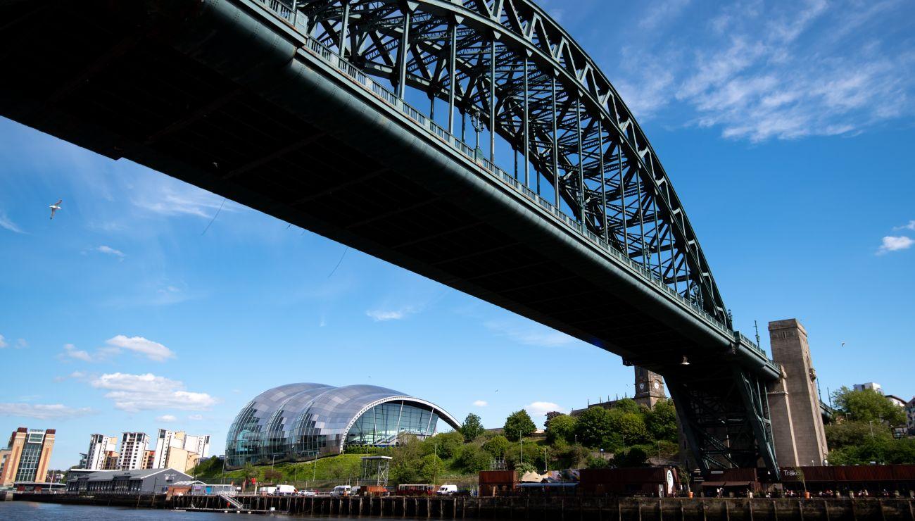 Tyne Bridge in Newcastle
