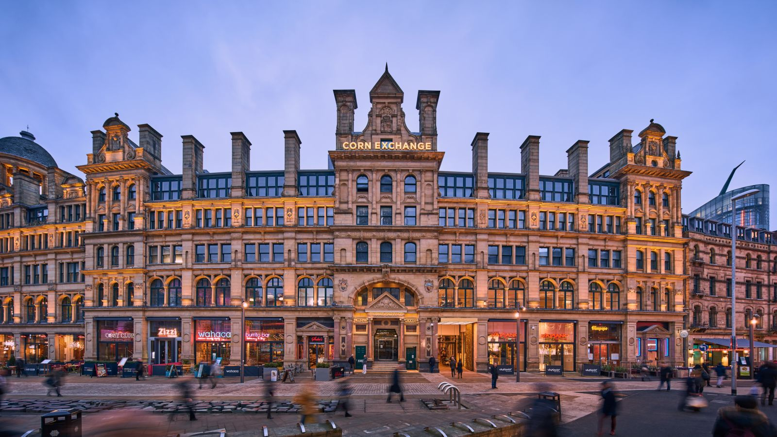 Manchester Corn Exchange External. IconInc @ Roomzzz. Student Accommodation in Newcastle