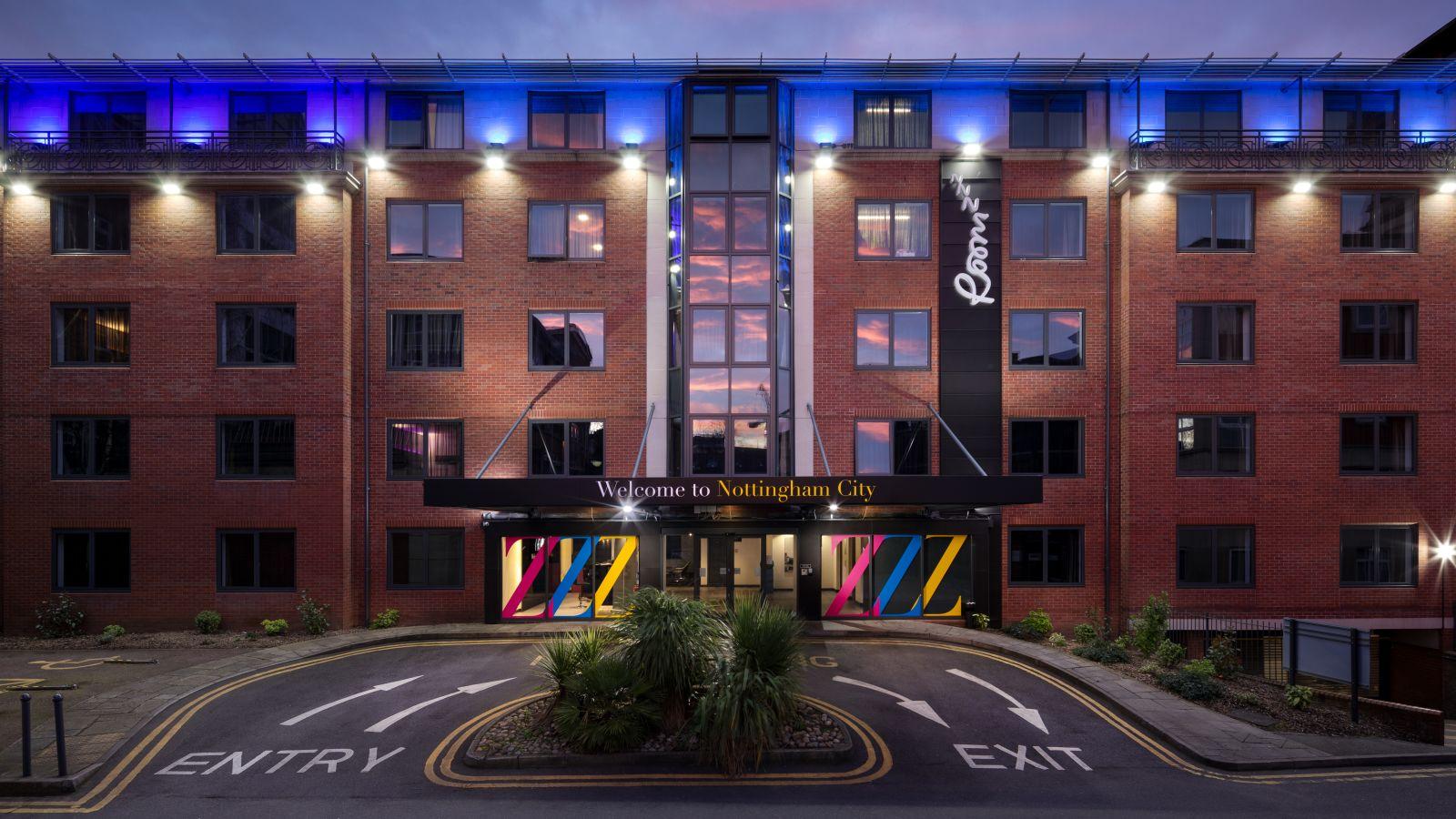 IconInc @ Roomzzz Nottingham External. Student Accommodation in Nottingham