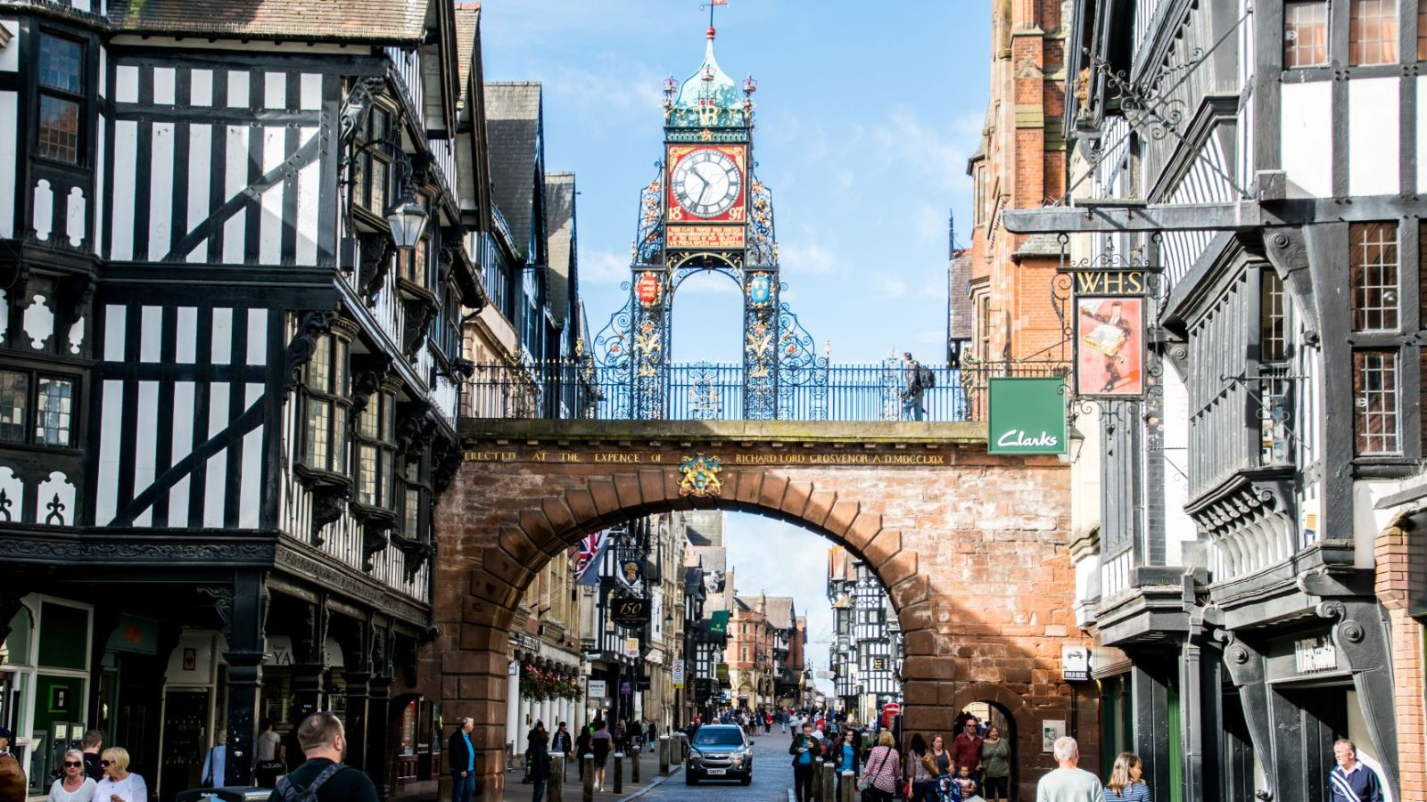 Chester City Centre. Student Accommodation in Chester