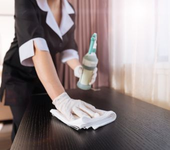 Additional Professional Cleaning Available at IconInc @ Roomzzz