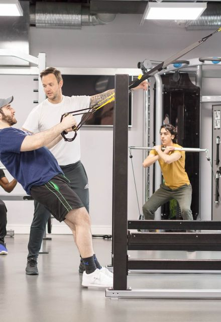 Personal Training at IconInc, The Glassworks. Student Accommodation in Leeds