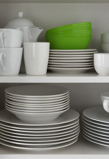 Plates, Bowls, Mugs and Glasses at IconInc, The Edge. Student Accommodation in Leeds