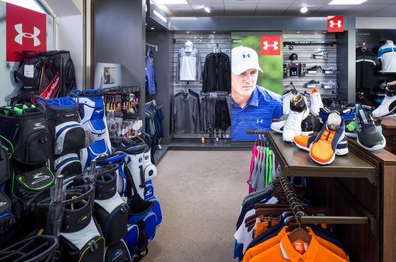 shop re-fit leeds golf centre
