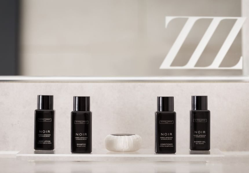White Company Toiletries. Student Apartment in Chester