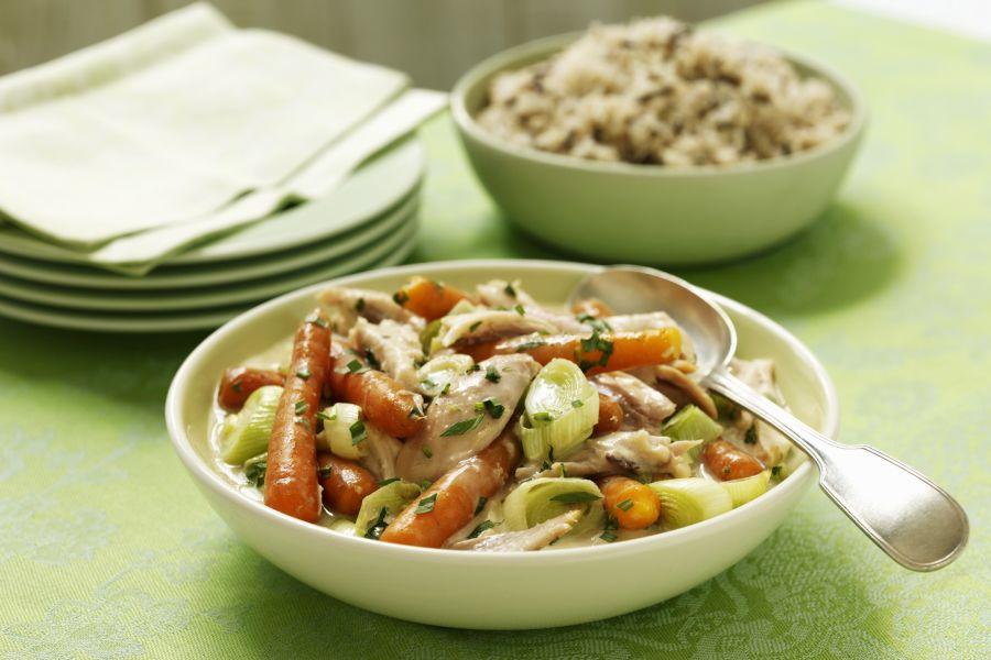 Gemüseeintopf mit Pute