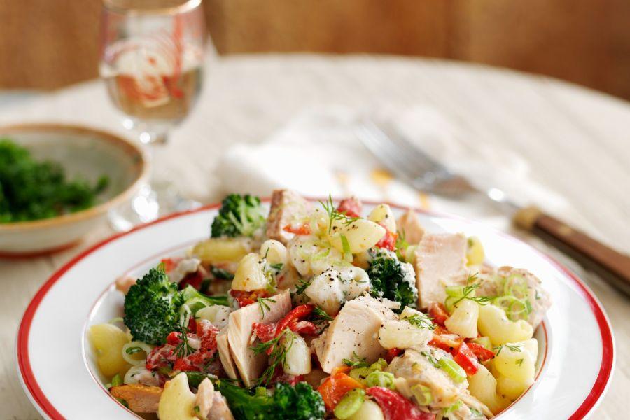 Milchfreie Pasta mit Brokkoli und Thunfisch