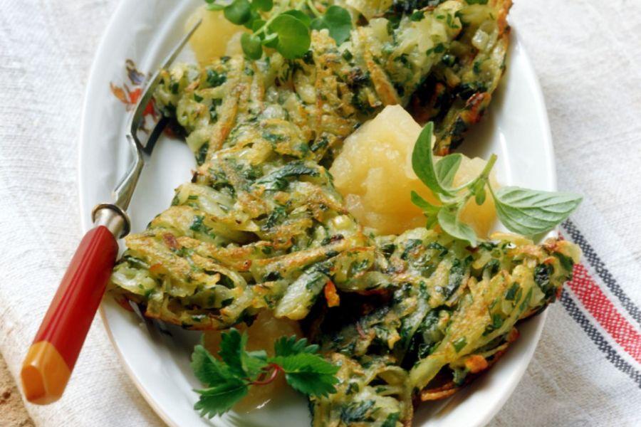 Kartoffel-Kräuterpuffer
