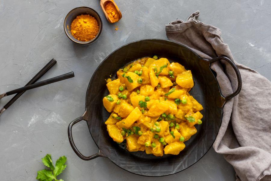 Currykartoffeln