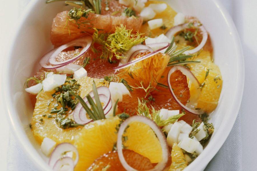 Fenchel-Orangen-Salat (Beilage)