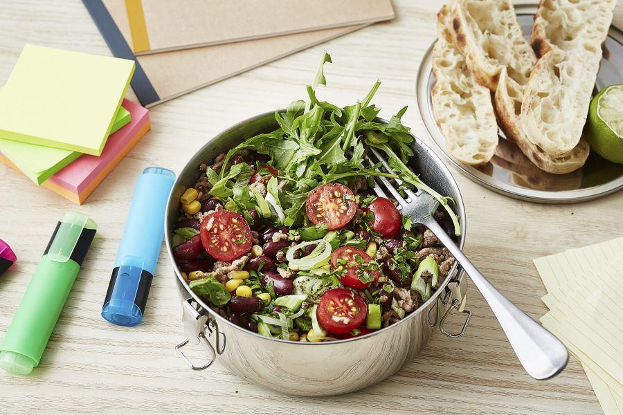 Chili-con-Carne-Salat