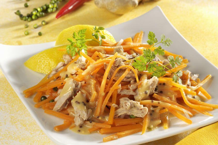 Karotten-Thunfisch-Salat