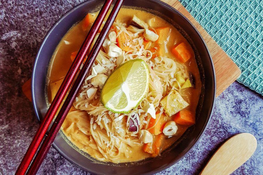 Vegane Thai-Suppe