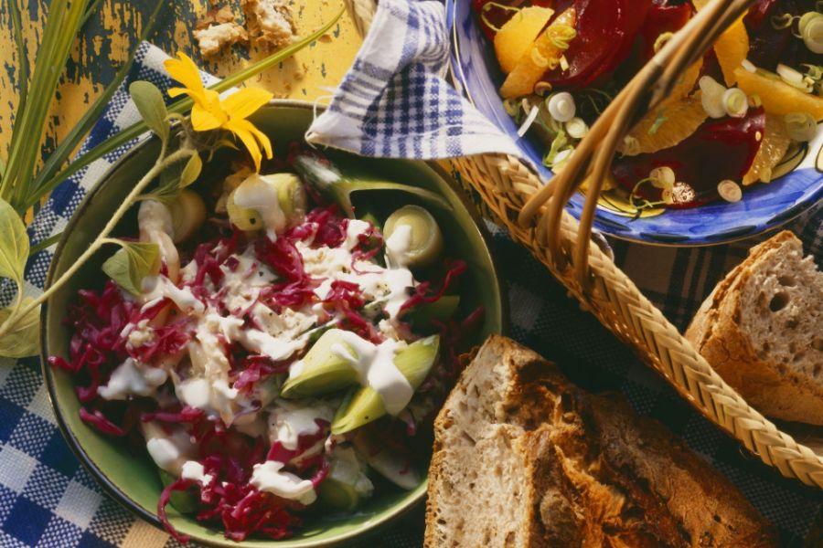 Rote-Bete-Salat mit Orangen