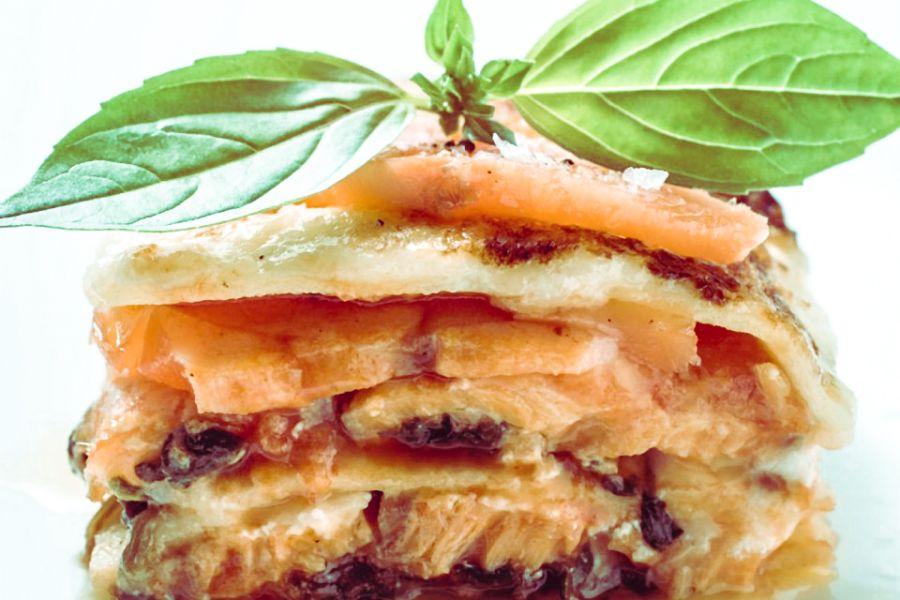 Lasagne mit Wildlachs