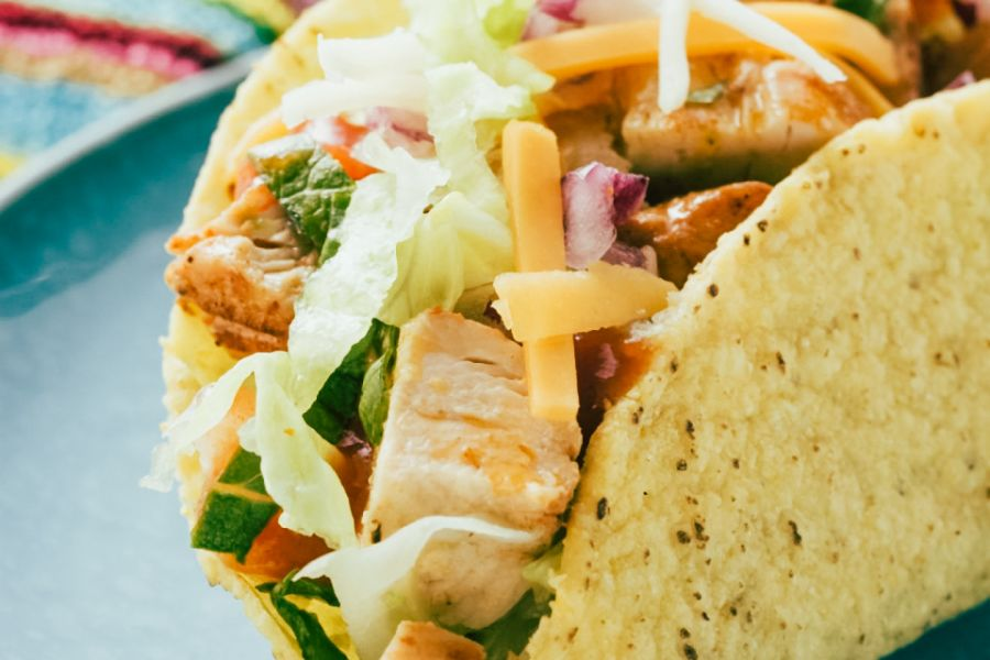 Hähnchen-Taco