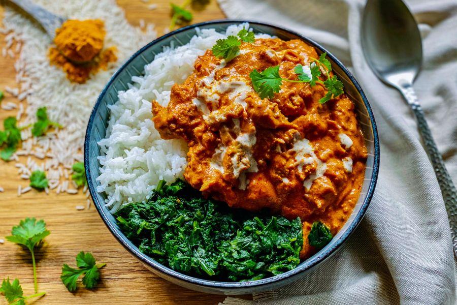 Veganes Indisches Tikka Massala