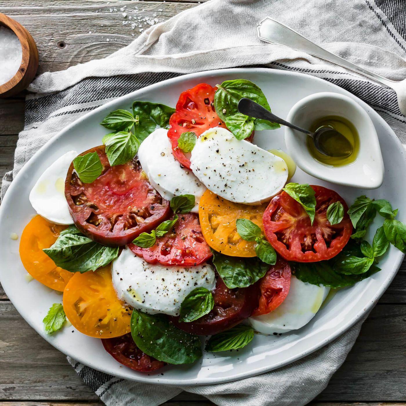 Italienische Rezepte, italienische Gerichte, Pasta, italienischer Salat