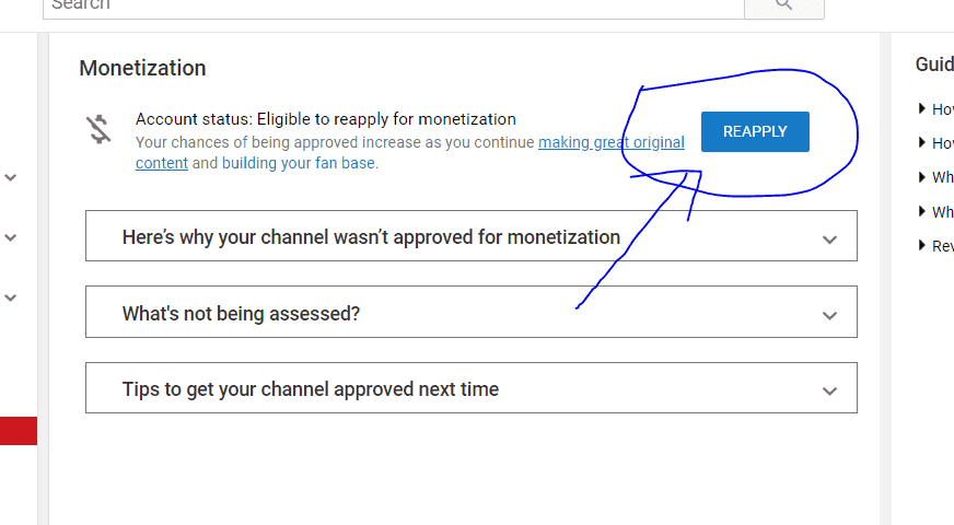 Your channel is no longer eligible to monetize Solution 2019