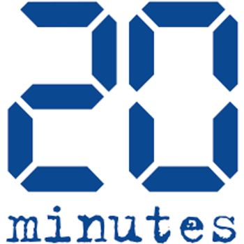 media logo for 20 minutes