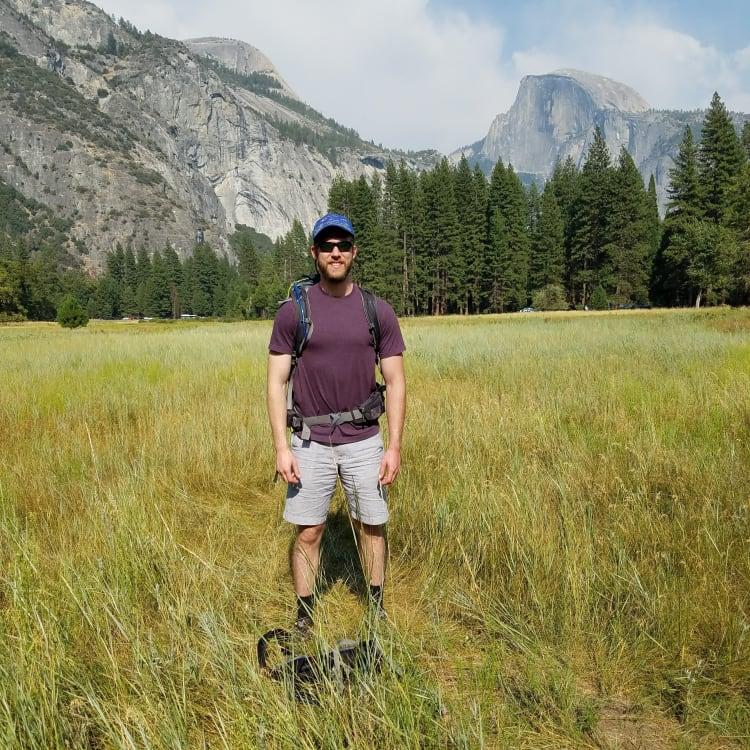 Marcus at Yosemite