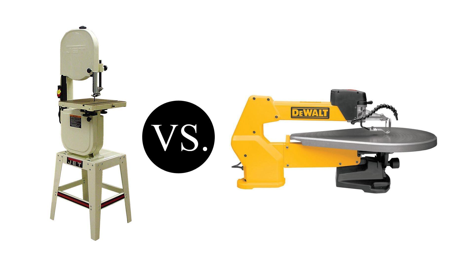 Scroll saw vs Band Saw: Which Should You Buy?
