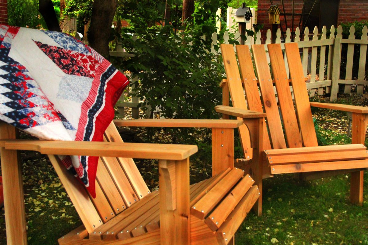 How to Build 2 Cedar Adirondack Chairs in an Afternoon