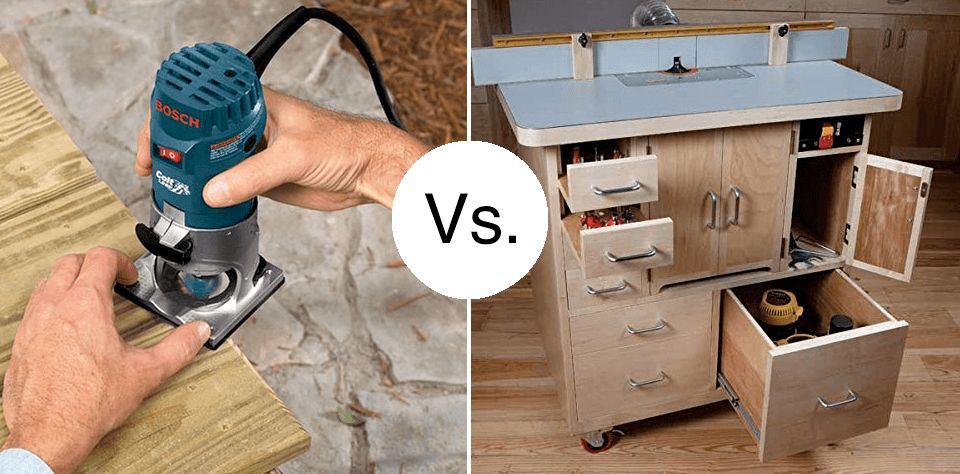 """""""Do I need a Router Table?"""" – No, but…"""