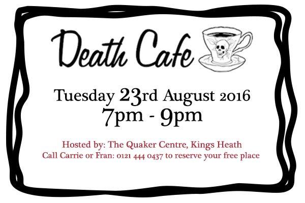 Death Cafe 23.8.16