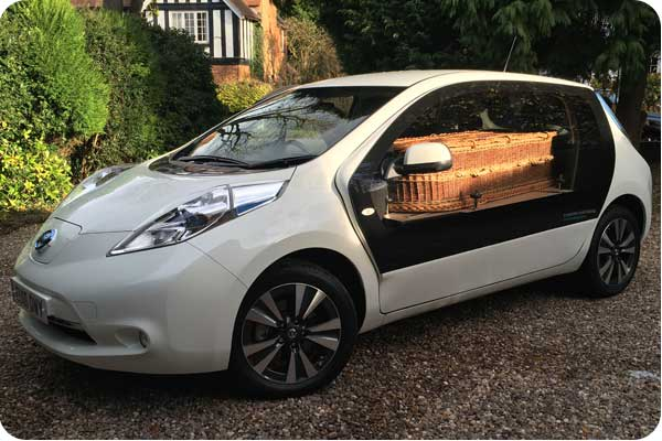 A Natural Undertaking eco hearse