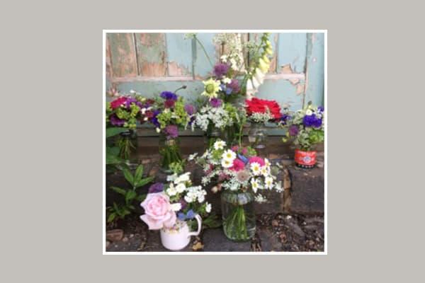 British summer flowers